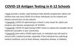District providing free rapid tests
