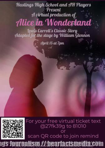 A virtual production of Alice in Wonderland April 15 at 7p.m.