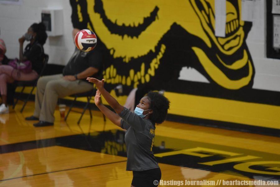 Gallery: Freshmen Volleyball vs. Spring Woods
